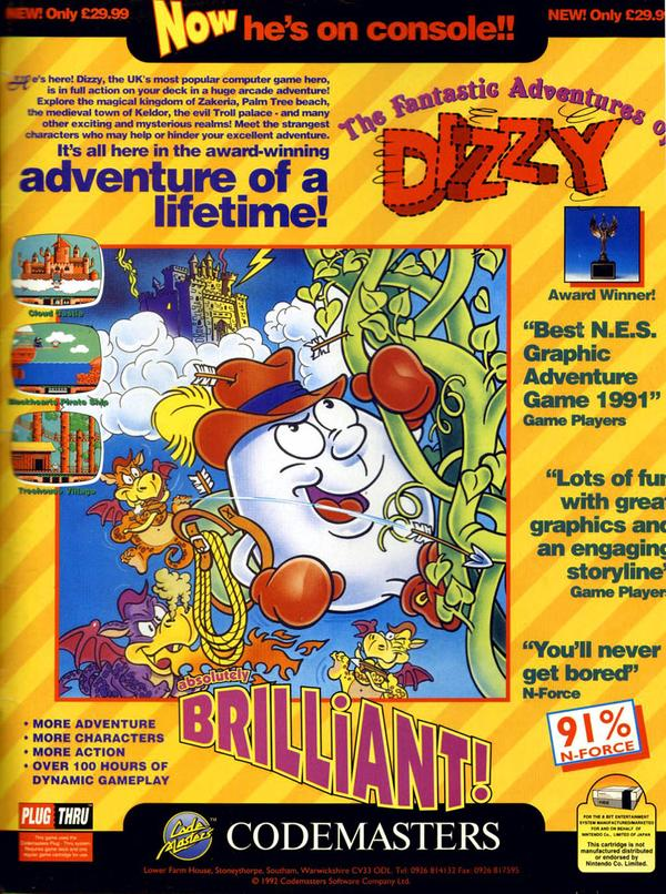 Fantastic Dizzy (Now he's on console!)