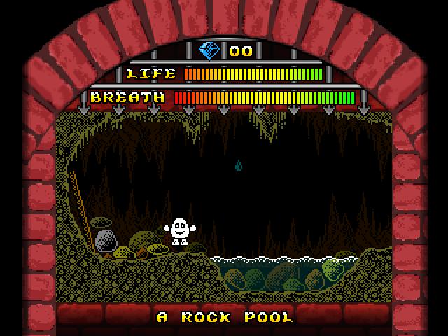 A dank cave