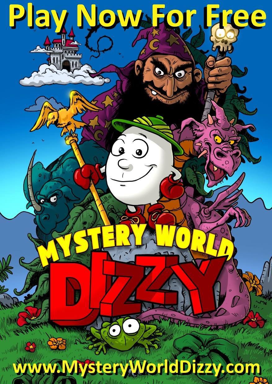 MYSTERY WORLD DIZZY - A new 'old' official game - The Dizzy