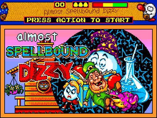 Almost Spellbound Dizzy