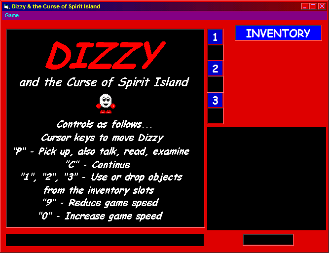 Dizzy and the Curse of Spirit Island