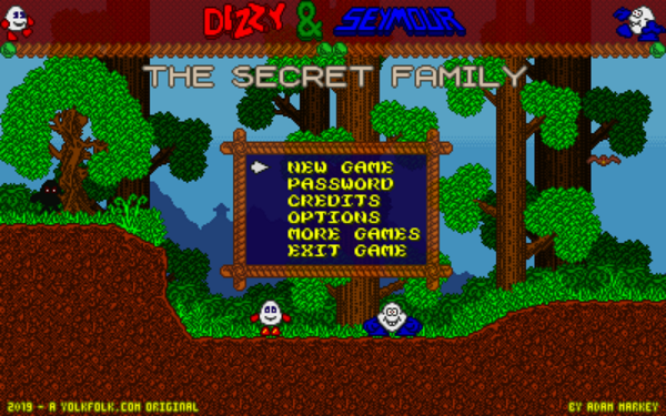 Dizzy and Seymour - The Secret Family