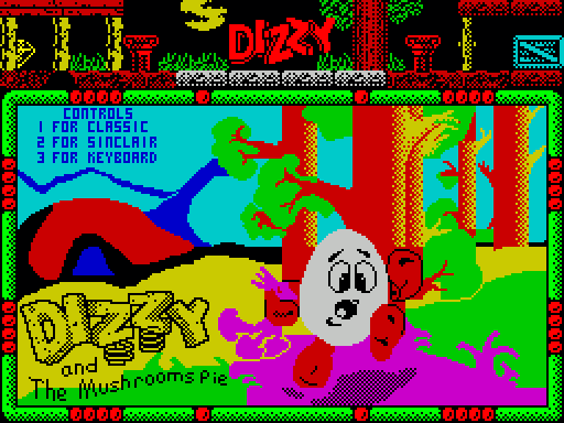 Dizzy and the Mushroom Pie (Spectrum Remake)