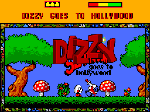 Dizzy Goes to Hollywood (Grandad)